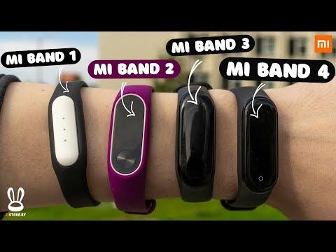 🔴 История Mi Band за 7 МИНУТ I СРАВНЕНИЕ ВСЕХ ВЕРСИЙ НАЧИНАЯ С MI Band 1 по Mi Band 4