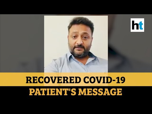 'Please, please, please...': Watch recovered Coronavirus patient's message