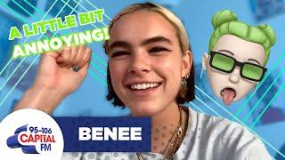 BENEE Finds Billie Eilish Comparisons Annoying 😵 | FULL INTERVIEW | Capital cмотреть видео онлайн бесплатно в высоком качестве - HDVIDEO