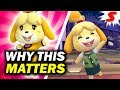 The REAL Significance of Isabelle's Inclusion - Super Smash Bros Ultimate