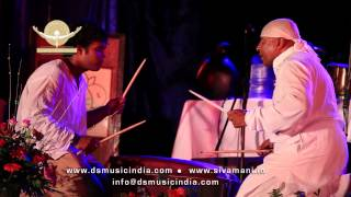 ds music sivamani with his son kumran playing a suitacase