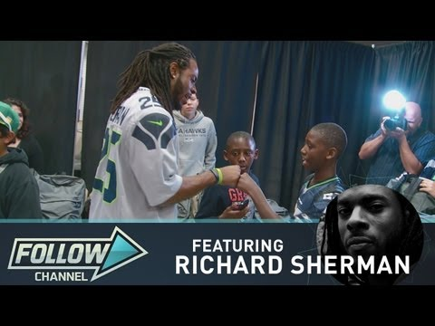Seahawks Richard Sherman on Family and Football