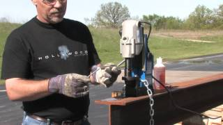 Hougen Hmd904 Portable Magnetic Drill Press