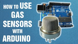 How to use gas sensors with Arduino || Arduino tutorial