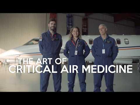 Sky Service Air Ambulance    The Art of Critical Air Medicine