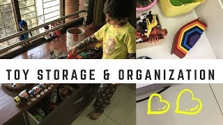 Toy Organization Ideas - How to store and organize toys (playroom ideas)