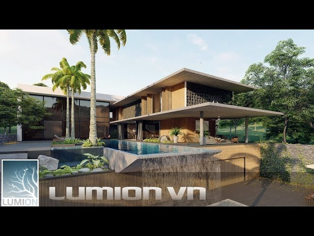 PVT Villa  Phu Quoc | Sketchup and lumion 8