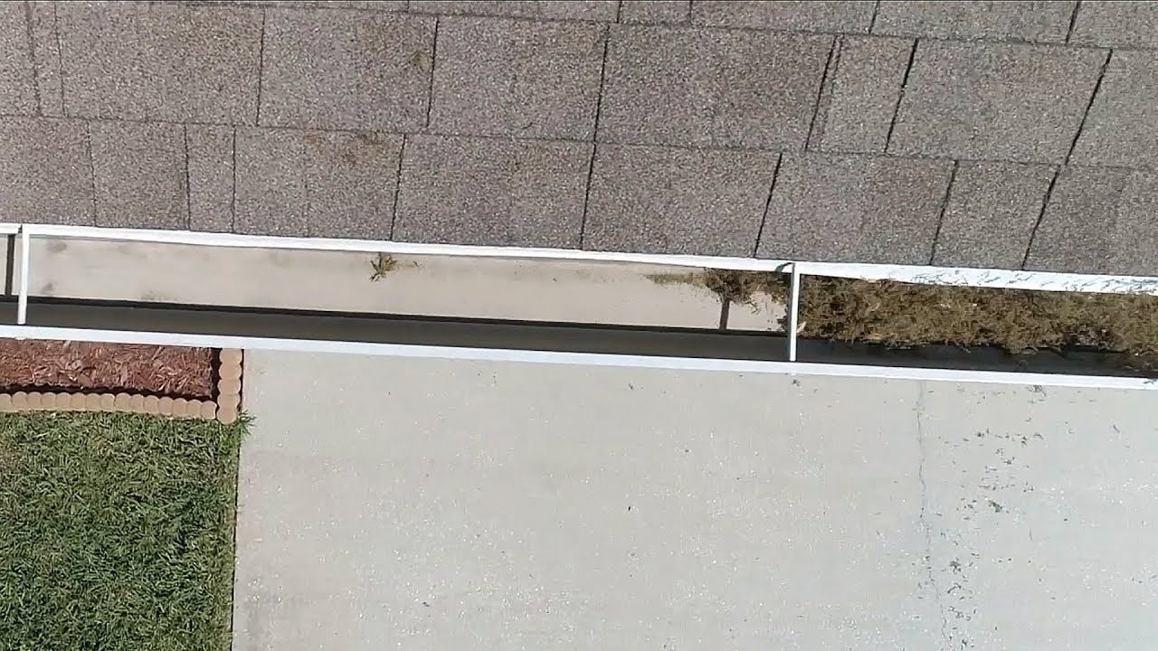 Fast Easy Way To Clean Rain Gutters Youtube