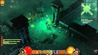 Diablo 3 # HD Gameplay Barbar - 11 # Skelettkönig 5/6