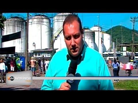 Paralisação provoca prejuízos no Porto de Santos