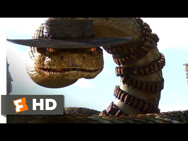 Rango (2011) - Jake the Rattlesnake Scene (8/10)   Movieclips