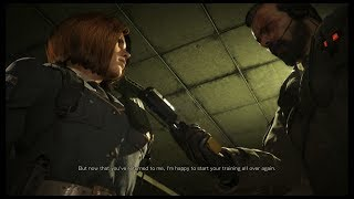 Left Alive: Guy Flirting With Olga & Borodin Hitting On Her