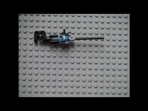 how to make a lego machine gun that shoots bricks