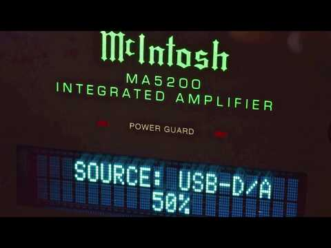 Stereo Design McIntosh MA5200 Integrated Amplifier in HD