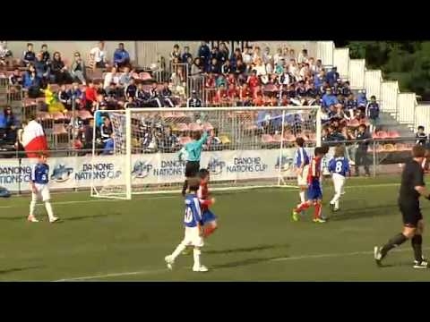 Italy - South Korea - Quarter Final - Fullmatch - Danone Nations Cup 2012