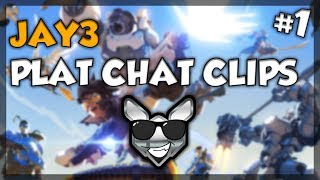 """""""WHAT ELO IS THIS?!?!?!""""   Jay3 Plat Chat Clips #1"""
