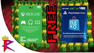 How to get FREE PSN Cards & XBOX Live - 2015 fast and easy