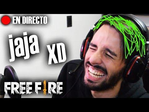 JUGAMOS EN DIRECTO A FREE FIRE *El pelo verde esta hecho con PAINT* 🔥🍉 | Kenai V BOT