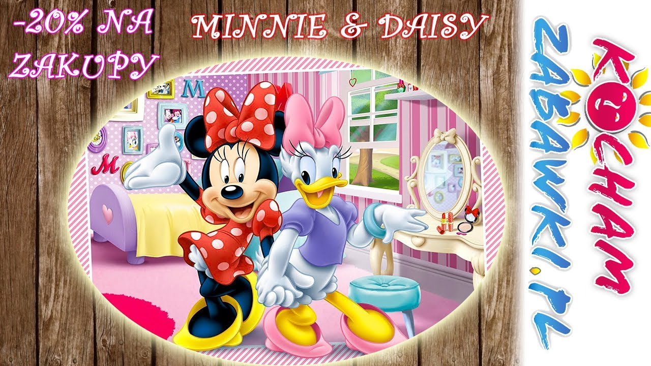 Minnie Mouse • Zakupy z przyjaciółką Daisy • Disney • bajki po polsku
