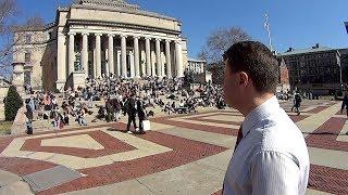 Инвестиции в США! Колумбиискии Университет в Нью Иорке! Полное видео! Американское образование!
