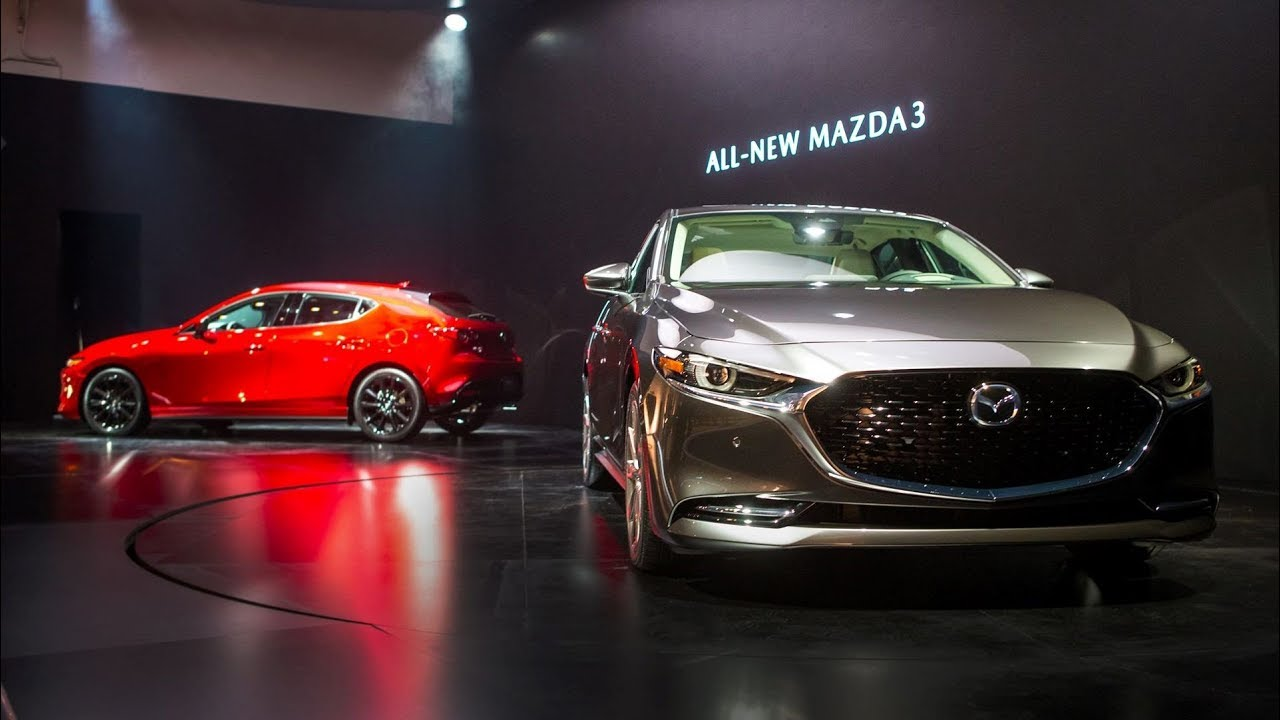 2019 Mazda 3 Unveiled In Los Angeles Youtube