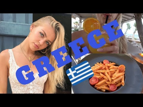 Greece Vlog!! Day 1 & 2