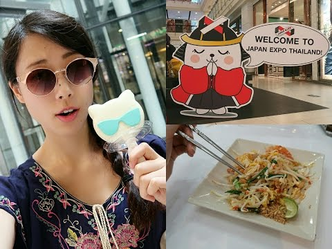 Bangkok Adventure // Food Tour + Japan Expo in Thailand !?