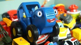 Настоящее волшебство - Синий трактор влог - Сказка про Фею и машинки
