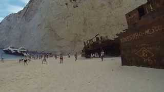 #ParavionLIVE. Navagio Beach. Zakynthos, Grecia