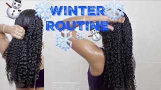 Winter Routine| Natural Curly Hair