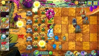 Plants vs Zombies 2 - JM Day 17: Primal Sunflower in Action