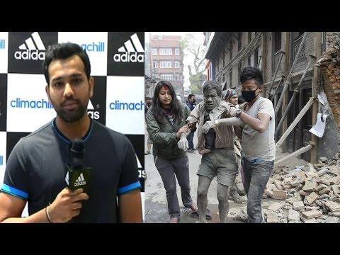 Nepal Earthquake: Rohit Sharma's Emotional Reaction