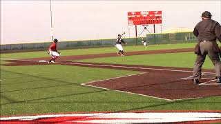 Andrew Couse-BLUE VALLEY WEST HS Baseball HIGHLIGHTS 2018 by James Chen
