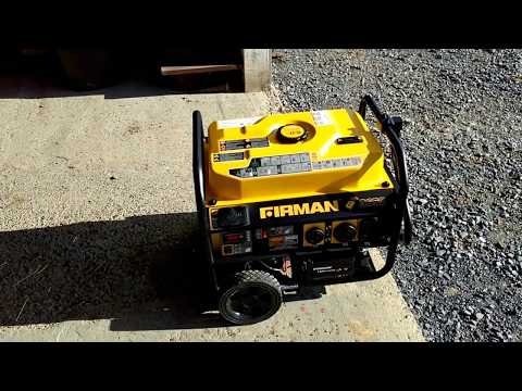 Firman Generator Unboxing and Review - YouTube