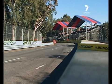 V8 Supercars : Dale Wood Crashes (Adelaide 2009)