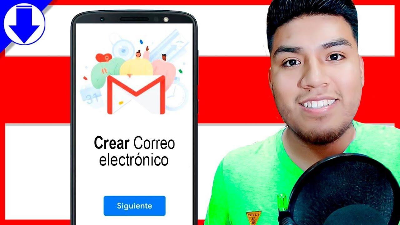 Download ✅ Cómo CREAR un CORREO Electrónico en el CELULAR 2021 | Android y iOS