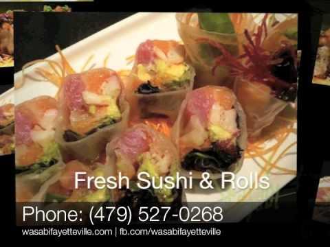 Wasabi Sushi Bar & Grill in Fayetteville, Arkansas