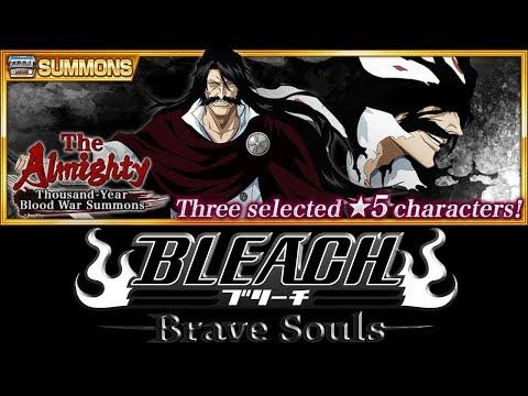 ОТКРЫВАЕМ ВИТРИНУ TYBW Summons  The Almighty  Bleach Brave Souls #340