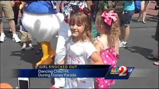 Upset mom uploads video of Disney dancing accident