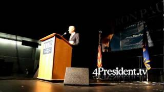 Ron Paul St Cloud Minnesota November 5, 2011 part one