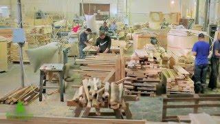 Фильм Фитородник - производство кедровых бочек. Съемка рекламных фильмов в Новосибирске(
