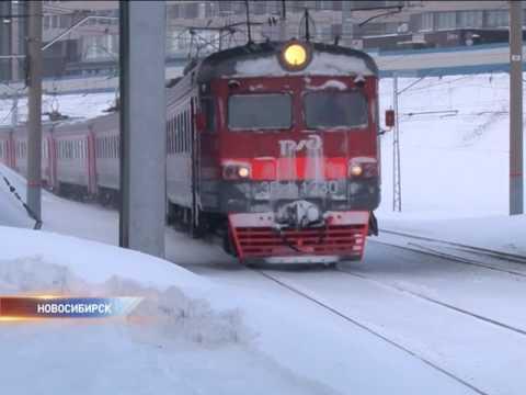 В Новосибирской области изменится расписание пригородных поездов
