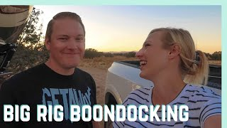 GETTING THE HANG OF BOONDOCKING? || RV LIVING