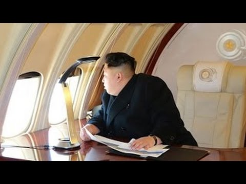 Kim Jong Un commanded a bird's-eye view of the Mirae street construction site from his pla