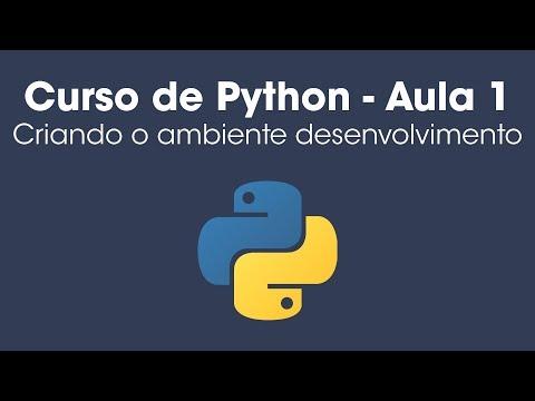 Curso de Python - Criando o ambiente de desenvolvimento - Aula 1 thumbnail