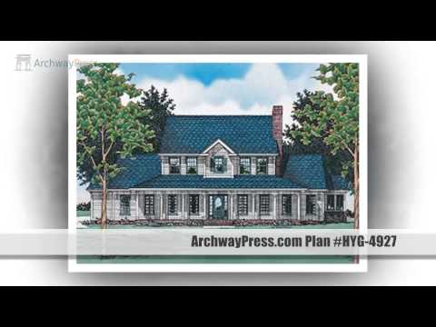 Colonial House Plans - Perfect Blend of Tradition and Elegance