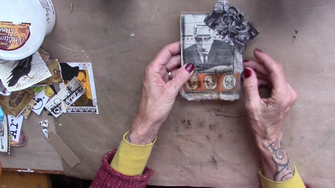 Art Journal Tutorials Lorri Marie Jenkins