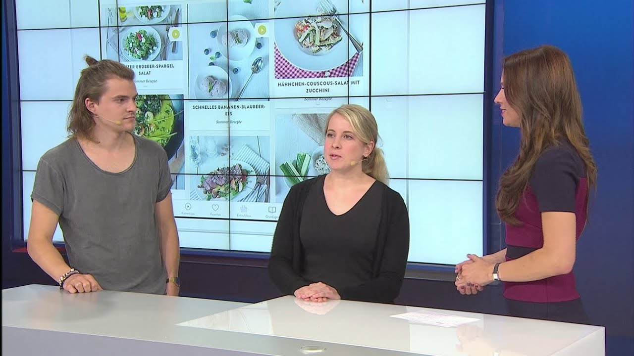 IFA 2016 - Startup-Talk mit Kitchen Stories und Foodguide - YouTube