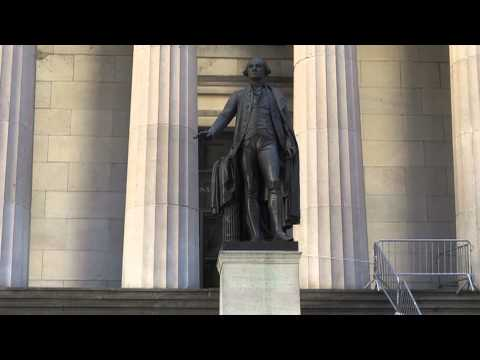 George Washington at Federal Hall