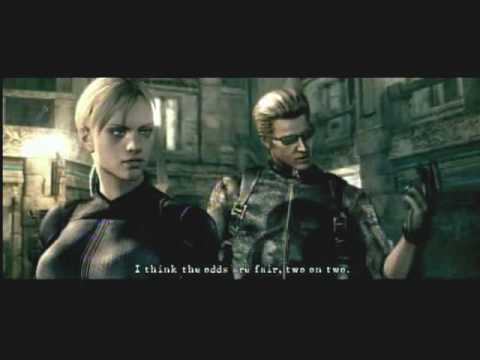 Resident Evil 5 Wesker Jill Battle Youtube